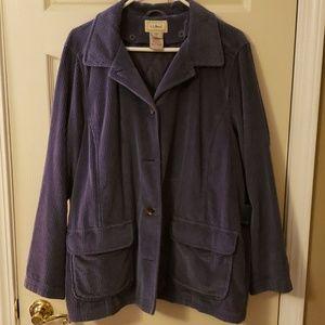 LL Bean coat, jacket, size XL, NWOT